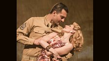 "Darius Campbell and Rebecca Thornhill in ""From Here to Eternity"""