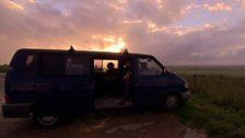 Gaz Brookfield's Van