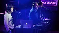 CHVRCHES in the Radio 1 Live Lounge