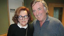 Barbara Dickson with Sir Terry Wogan