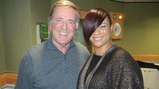 Gabrielle with Sir Terry Wogan