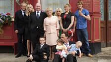 Archie Mitchell and family