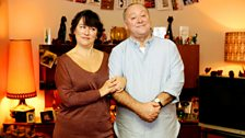 Beth (Arabella Weir) & Eric (Alex Norton) may have been married for a very long time but you'd never know it. That's a lie.