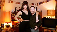 Cathy (Doon Mackichan) and Colin (Jonathan Watson) are the life and soul of any party. That is also a lie.