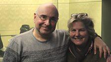 Sandi Toksvig and Rob Cowan