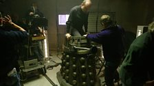 Dalek operator Barney Edwards.