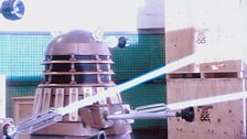 The Daleks open fire!