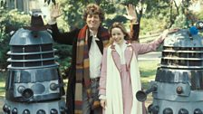 A publicity shot for Destiny of the Daleks (1979)