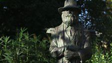 Cézanne Statue