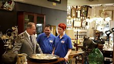David Filming for Bargain Hunt Australia