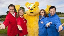 The Strictly teams with Pudsey