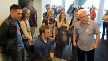Ian McMillan explains the speed dating rules