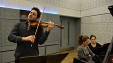 Philippe Quint & Lily Maisky play live in the studio