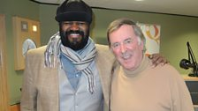 Gregory Porter with Sir Terry Wogan
