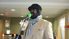 Gregory Porter performed live in BBC studio 6C for Sir Terry