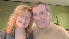 Eddi with Sir Terry Wogan