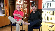 Dr George McGavin meets Meet Tom Yendell, an extraordinary artist who paints with feet
