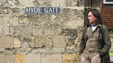 Hyde Abbey Gate