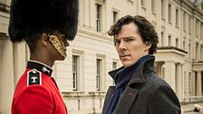 Sherlock and 'The Bloody Guardsman'