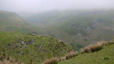 The remote Berwyn range
