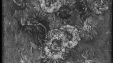 X-ray of Sunflowers by Vincent van Gogh © National Gallery, London