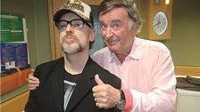 Sir Terry with pop icon Boy George.