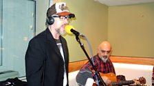 Boy George performed for Sir Terry Wogan live on BBC Radio 2.
