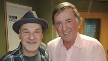 Sir Terry with the prolific singer-songwriter Paul Carrack