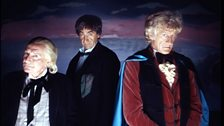The first three Doctors get the sartorial ball rolling in style!