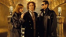 The Eighth Doctor (centre)…