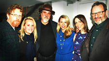 Tim O'Brien, Mary Chapin Carpenter, Darrell Scott, Aoife O'Donovan, Emily Smith and Mark Radcliffe at Celtic Connections 2014