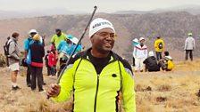 Featured sportsman: Gideon Mthembu
