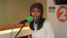 Beverley Knight in session for Sir Terry Wogan