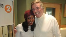 Beverley Knight with Sir Terry Wogan
