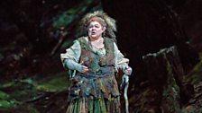 """Dolora Zajick as Ježibaba in Dvořák's """"Rusalka."""""""