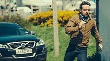 DCI Tom Mathias running away