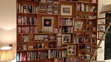 John's bookcase