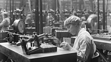 "David Lloyd George declared in July 1915 - ""Without women, victory will tarry"". Over 900,000 women worked in munitions alone"