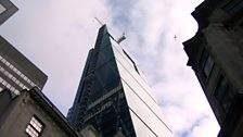 The Cheesegrater gets its name from its distinctive profile.