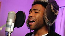Childish Gambino in session