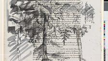 Birken (Paysage) ('Birch Trees (Paysage)'), 1972, Georg Baselitz
