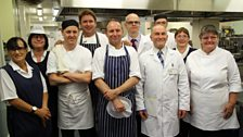 The team at the Princess Alexandra