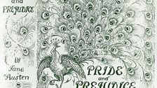 Hugh Thomson's 1984 illustrated cover of Pride and Prejudice