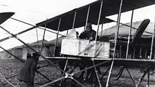 Montrose Air Station, Scotland. The first Royal Flying Corps, Number 2 Squadron, arrived there in September 1913.