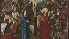 Master of the Aachen Altarpiece (active late 15th to early 16th century) The Crucifixion, about 1490-5