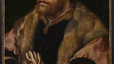 Jan Gossaert (active 1503; died 1532) A Man holding a Glove, about 1530-2