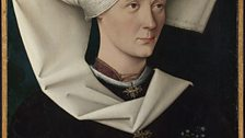 Swabian Portrait of a Woman of the Hofer Family, about 1470