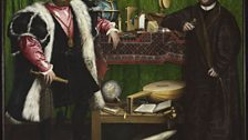 Hans Holbein the Younger (1497/8-1543) Jean de Dinteville and Georges de Selve ('The Ambassadors'), 1533