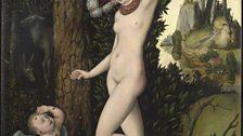 Lucas Cranach the Elder (1472-1553) Cupid complaining to Venus, about 1525