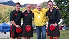 Three Red Hot Chilli Pipers